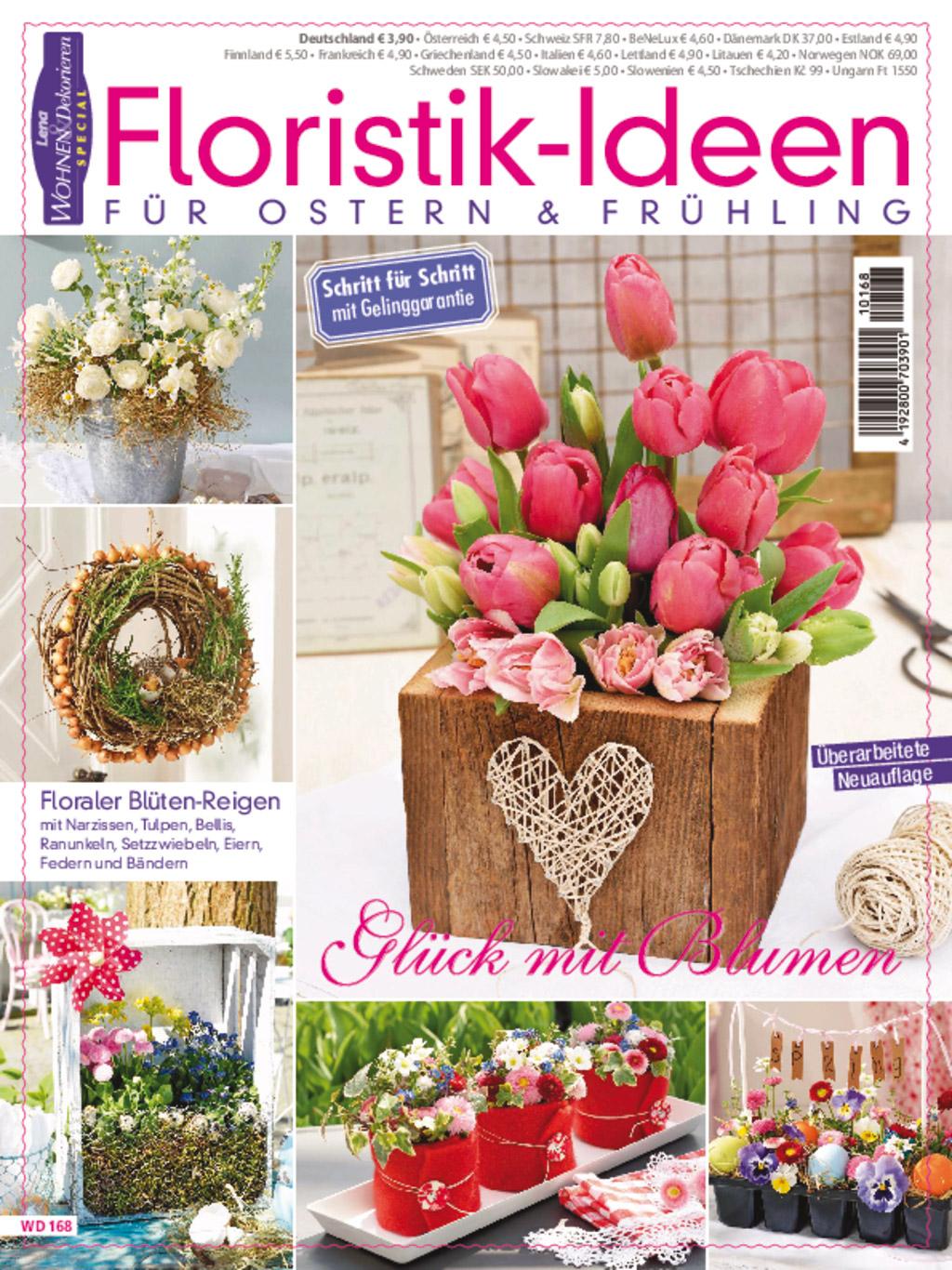 Lena Wohnen & Dekorieren special WD168 - Glück mit Blumen