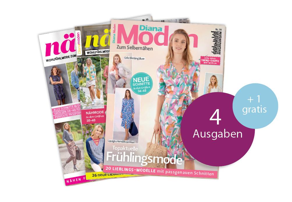 Diana Moden - Jahresabo + 1 Ausgabe gratis