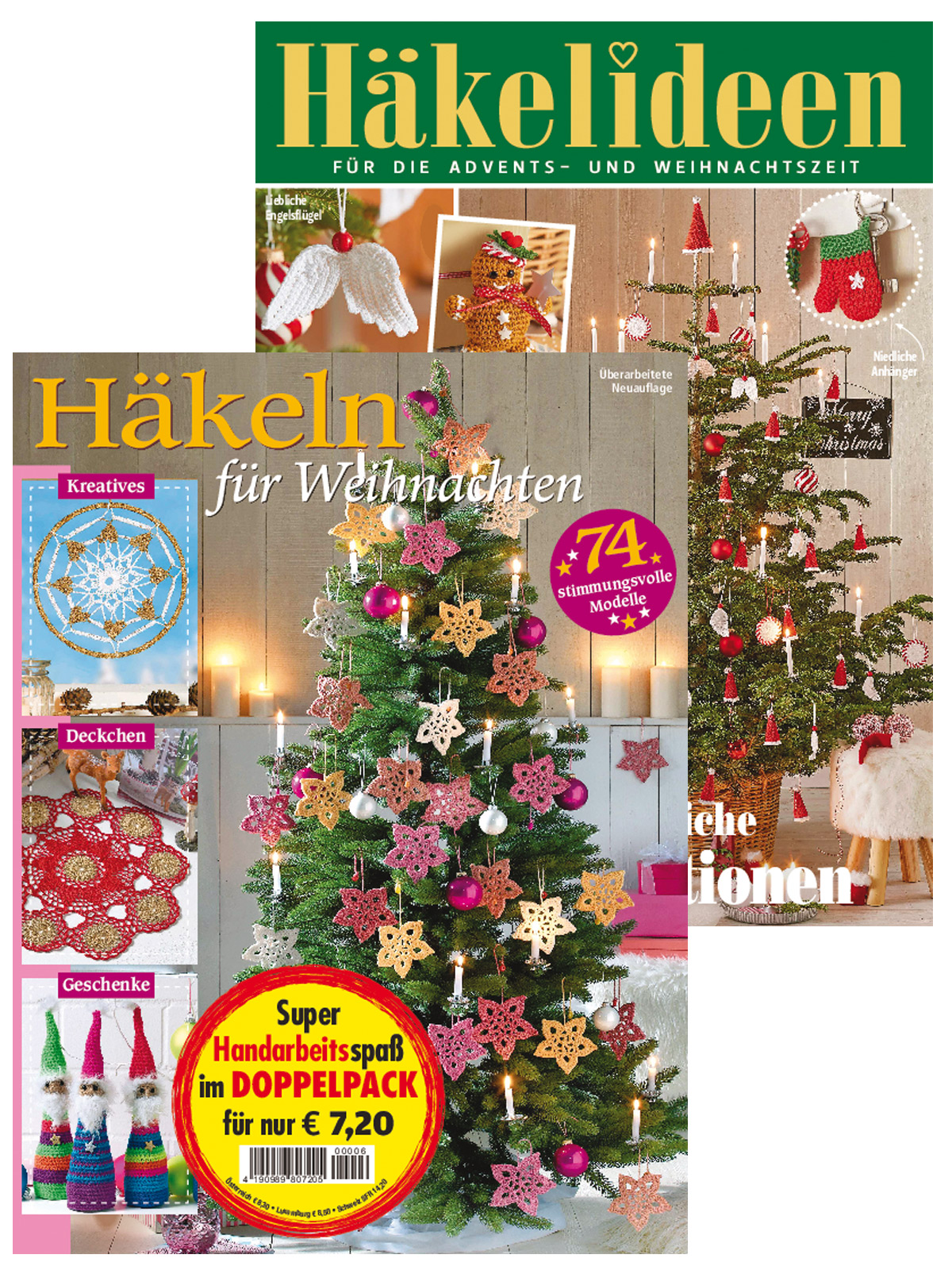 Zwei Zeitschriften: Häkeln Deko Whn. 220096 / A 516 + 220096/A 507