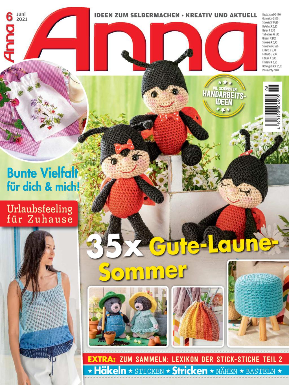 E-Paper: Anna Nr. 6/2021 - 35 x Gute-Laune-Sommer