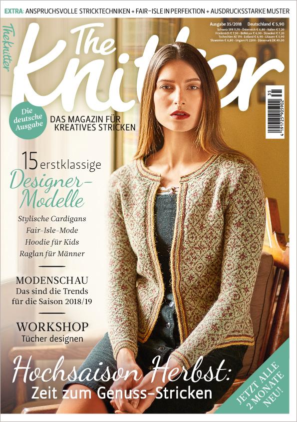 The Knitter Nr. 35/2018  - Hochsaison Herbst