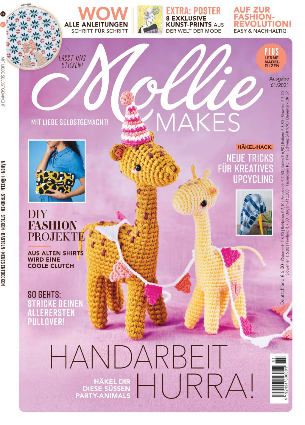 Mollie Makes Nr. 61/2021 - Handarbeit Hurra!