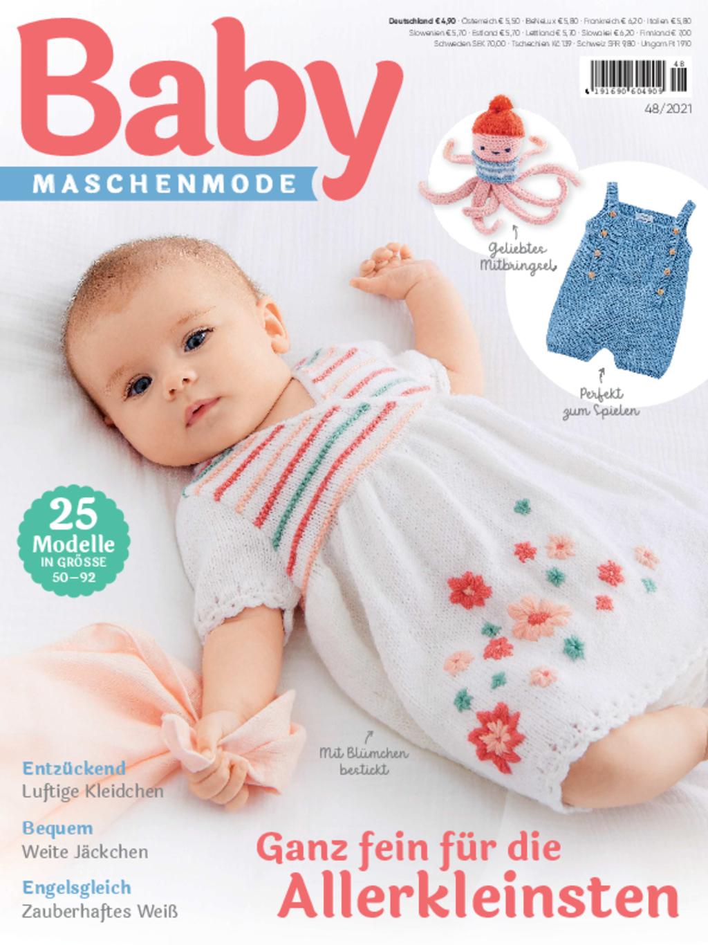 Baby Maschenmode 48/2021 - Ganz fein für die Allerkleinsten