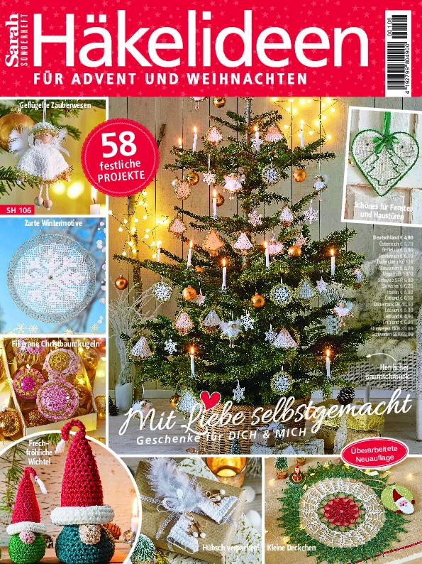 Sarah Sonderheft- Häkelideen für Advent und Weihnachten