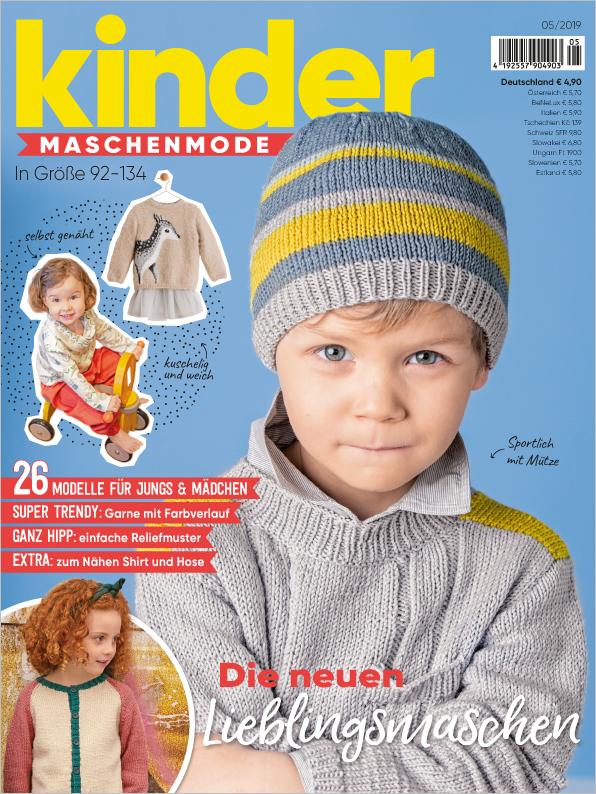 Kinder Maschenmode Nr. 05/2019 - Die neuen Lieblingsmaschen