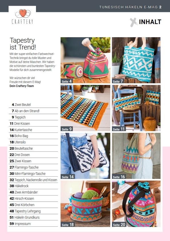 E-Magazin Nr. 05/2021: Tapestry Häkeln