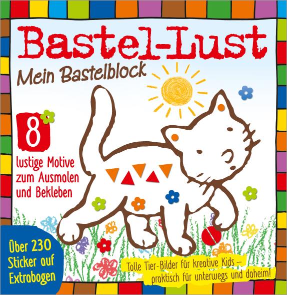 Bastellust Nr. 32/2018 - Mein Bastelblock - Tiermotive