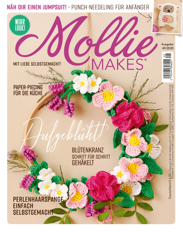 E-Paper: Mollie Makes  Nr. 49/2020 - Aufgeblüht!