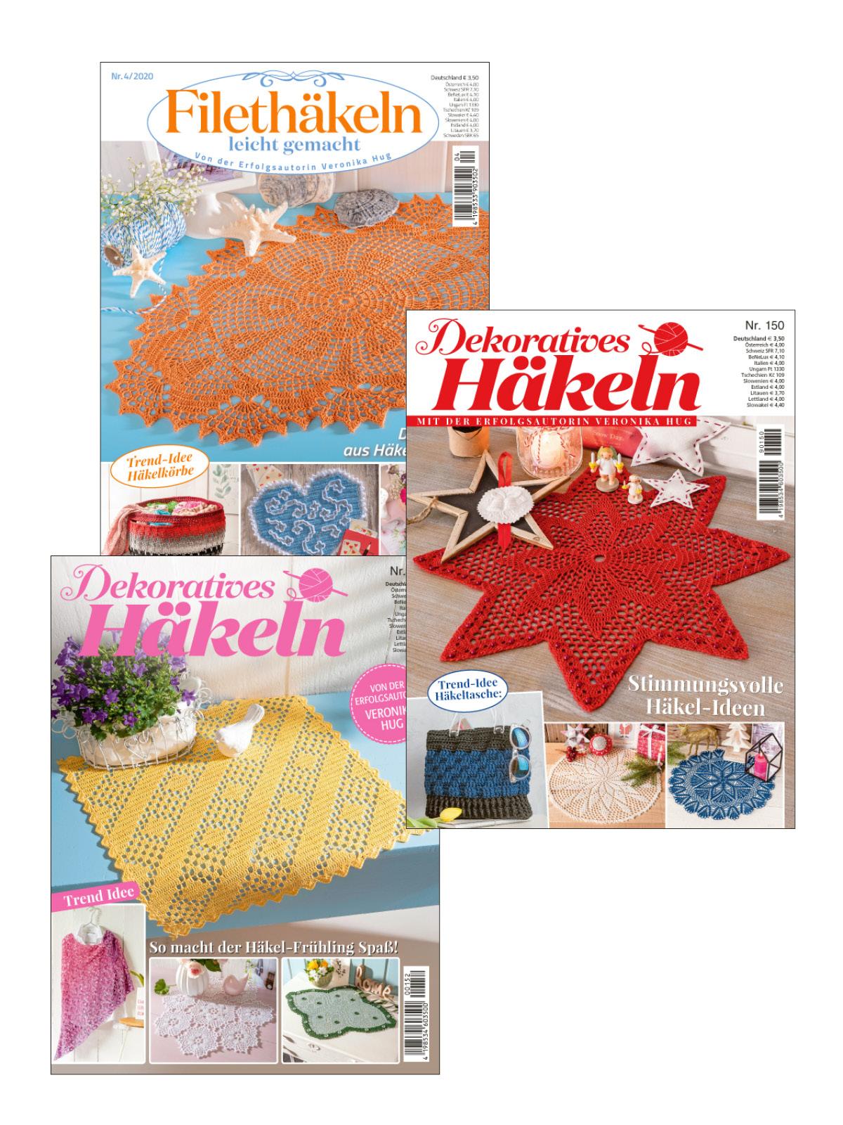 3 Zeitschriften statt Euro 10,50 nur Euro 5,25 zum Sparpreis