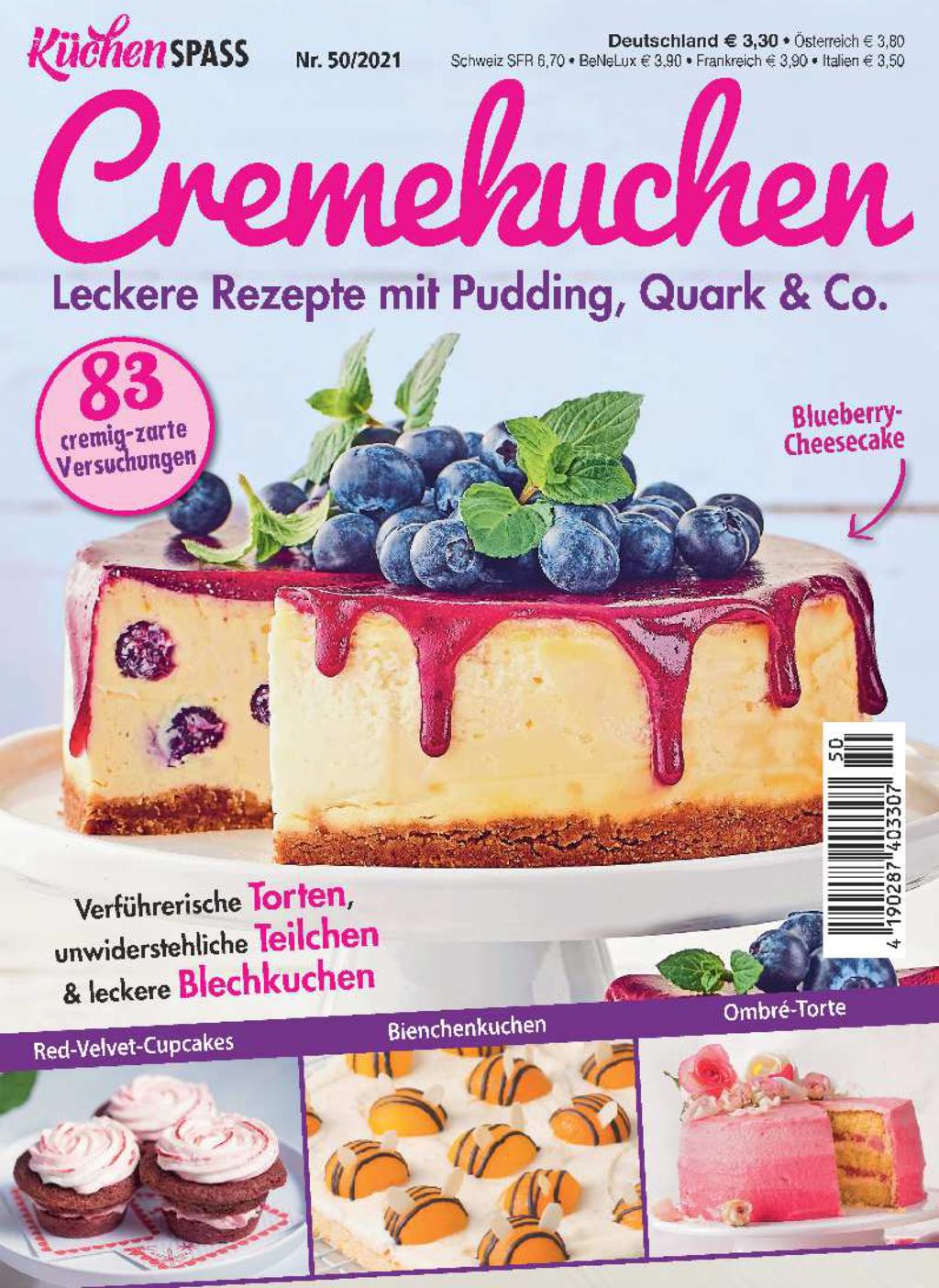 KüchenSPASS 50/2021 - Cremekuchen
