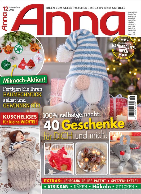 Anna Nr. 12/2018 - 40 Geschenke für Dich und mich!