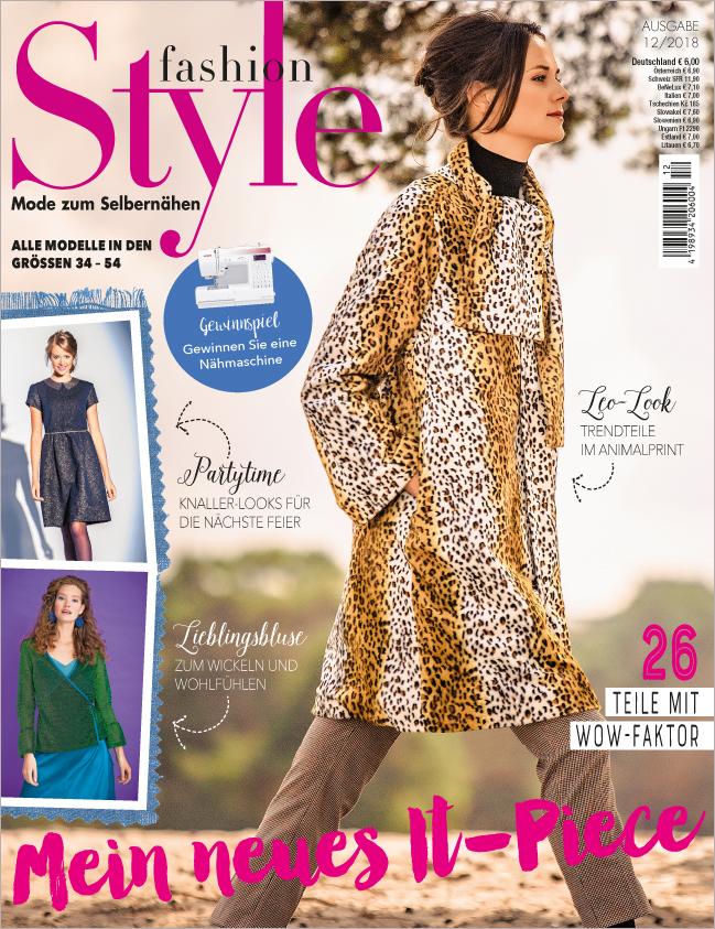 Fashion Style Nr. 12/2018 - Mein neues It-Piece