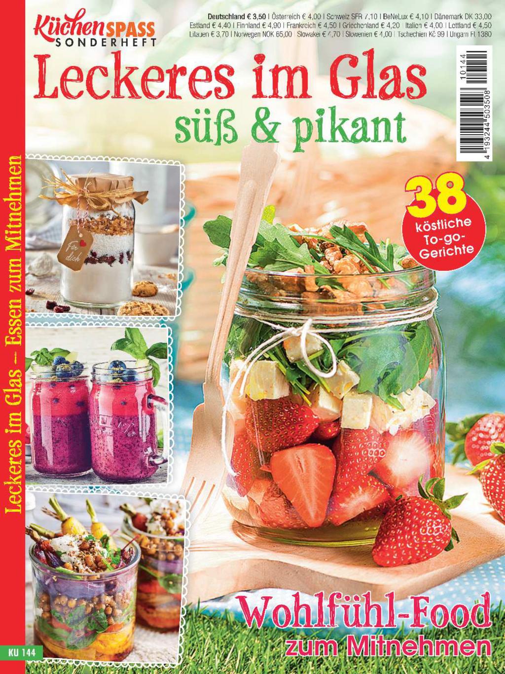 Küchenspaß Sonderheft KU 144 - Wohlfühl-Food zum Mitnehmen