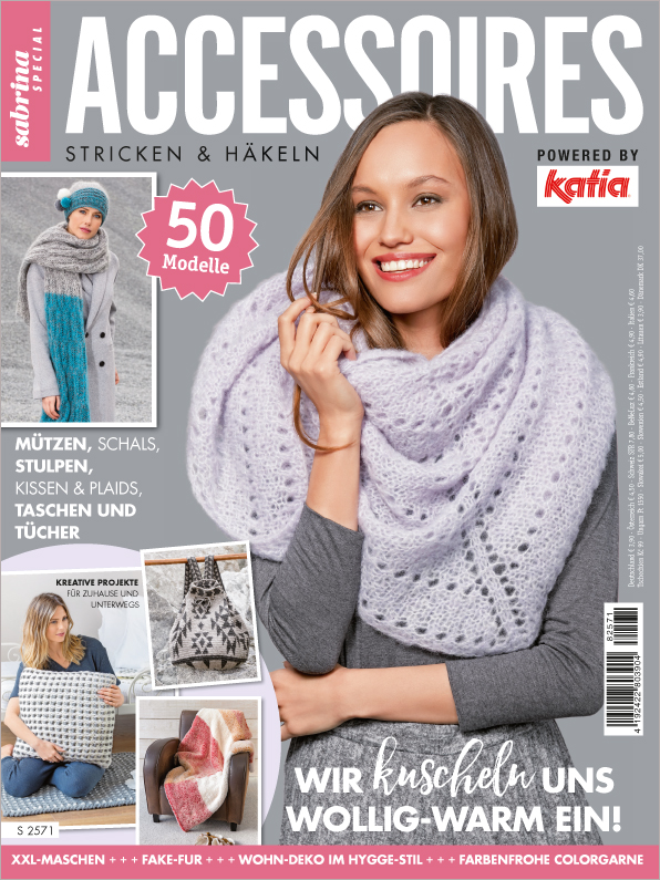 Sabrina Special - Accessoires Stricken & Häkeln - 50 Modelle powered by Katia