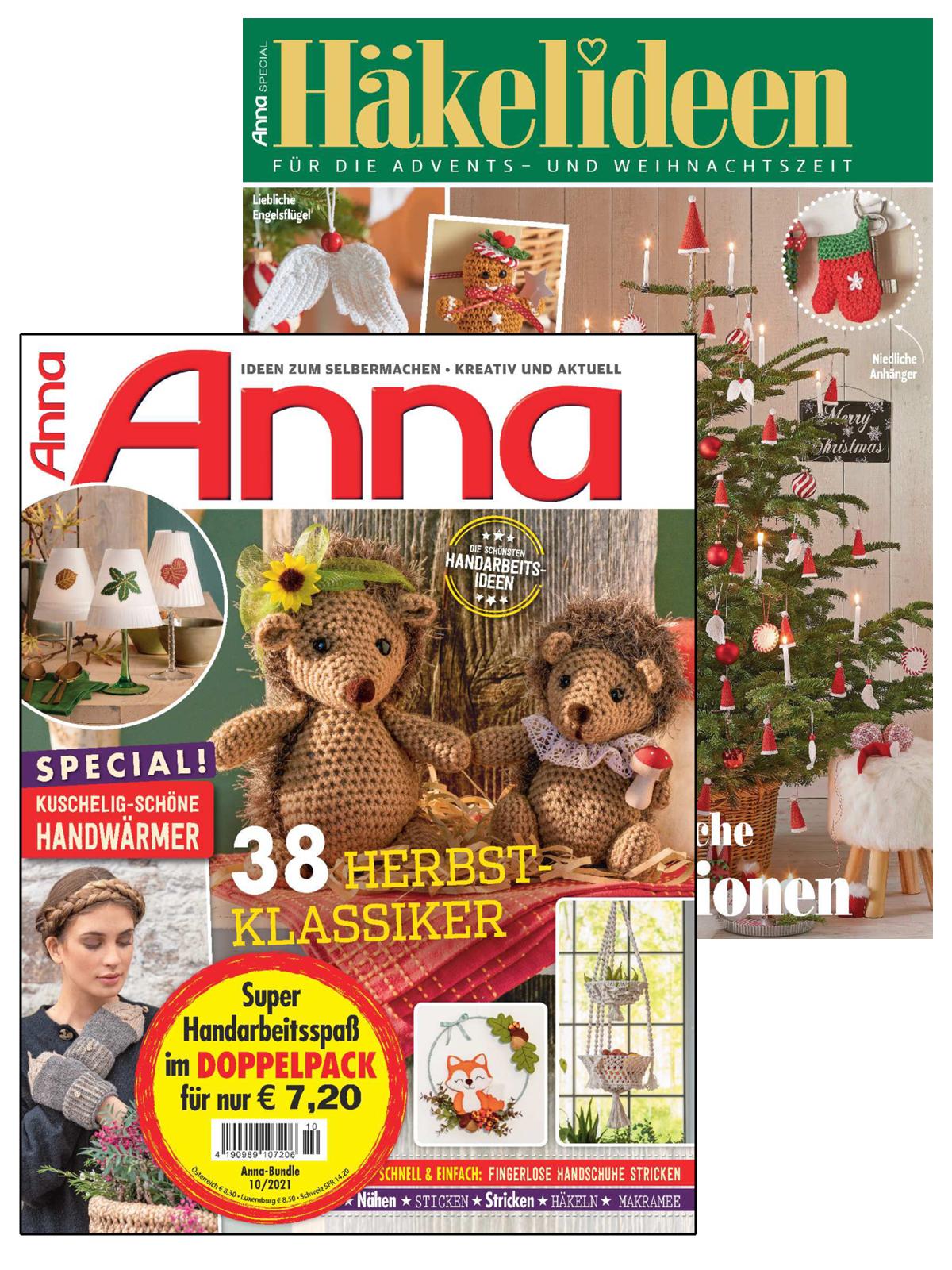 2 Zeitschriften: Anna Nr. 10/2021 und A 507