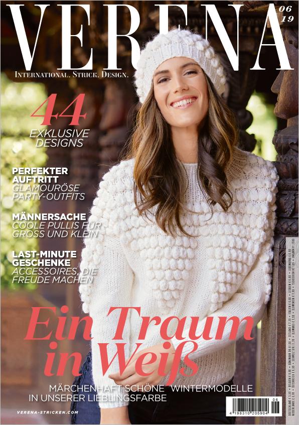 Verena Stricken Nr. 06/2019 - Ein Traum in Weiß